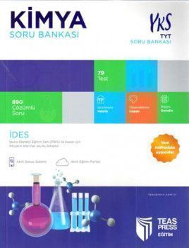 Teas Press Yayınları TYT Kimya Soru Bankası
