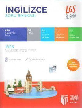 Teas Press Yayınları 8. Sınıf LGS İngilizce Soru Bankası