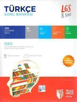 Teas Press Yayınları 8. Sınıf LGS Türkçe Soru Bankası