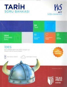 Teas Press Yayınları AYT Tarih Soru Bankası