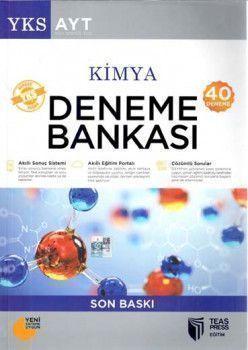 Teas Press Yayınları AYT Kimya 40 Deneme Bankası