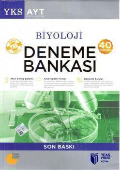 Teas Press Yayınları AYT Biyoloji 40 Deneme Bankası
