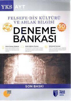 Teas Press Yayınları AYT Felsefe Din Kültürü ve Ahlak Bilgisi 30 Deneme Bankası