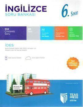 Teas Press Yayınları 6. Sınıf İngilizce Soru Bankası