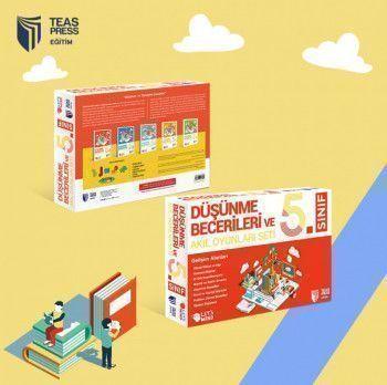 Teas Press Yayınları 5. Sınıf Düşünme Becerileri ve Akıl Oyunları Seti