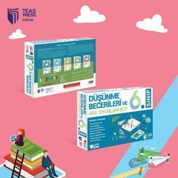 Teas Press Yayınları 6. Sınıf Düşünme Becerileri ve Akıl Oyunları Seti