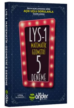 Tek Önder Yayınları LYS 1 Matematik ve Geometri 5 Deneme Sınavı