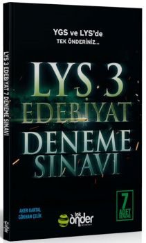 Tek Önder Yayınları LYS 3 Edebiyat 7 Deneme Sınavı