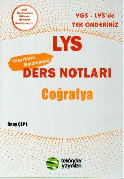 Tek Önder Yayınları LYS Coğrafya Ders Notları