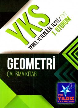 Tek Yıldız Yayınları YKS 1. Oturum TYT Geometri Çalışma Kitabı