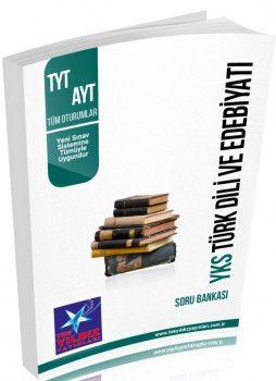 Tek Yıldız Yayınları 1. ve 2. Oturum TYT AYT Türk Dili ve Edebiyatı Soru Bankası