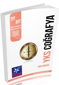 Tek Yıldız Yayınları 1. ve 2. Oturum TYT AYT Coğrafya Soru Bankası