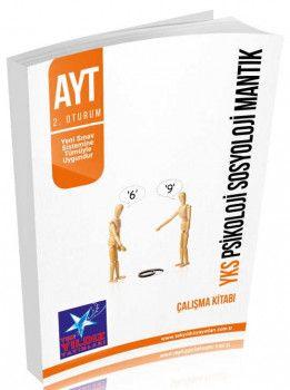 Tek Yıldız Yayınları 2. Oturum AYT Psikoloji Sosyoloji Mantık Çalışma Kitabı