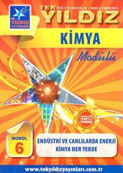 Tek Yıldız Yayınları Kimya Endüstri ve Canlılarda Enerji Kimya Her Yerde Modül 6
