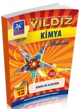 Tek Yıldız Yayınları Kimya ve Elektrik Modül 12