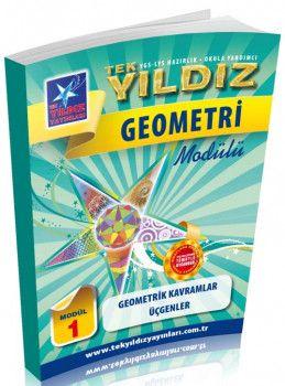 Tek Yıldız Yayınları Geometrik Kavramlar Üçgenler Modül 1