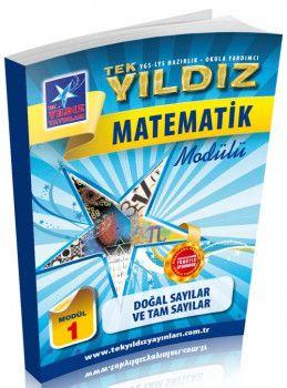 Tek Yıldız Yayınları Matematik Doğal Sayılar ve Tam Sayılar Modül 1