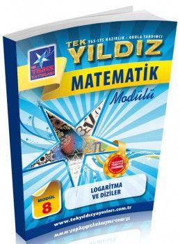 Tek Yıldız Yayınları Matematik Logaritma ve Diziler Modül 8