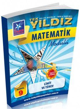 Tek Yıldız Yayınları Matematik Limit ve Türev Modül 9
