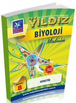 Tek Yıldız Yayınları Biyoloji Genetik Modül 8