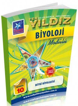 Tek Yıldız Yayınları Biyoloji Bitki Biyoloji Modül 10