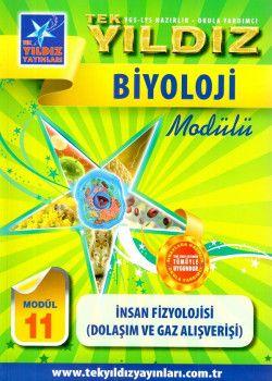 Tek Yıldız Yayınları Biyoloji İnsan Fizyolojisi Dolaşım ve Gaz Alışverişi Modül 11
