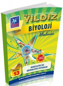 Tek Yıldız Yayınları Biyoloji Denetleyici ve Düzenleyici Sistemler Modül 13