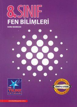 Tek Yıldız Yayınları 8. Sınıf Fen Bilimleri Soru Bankası