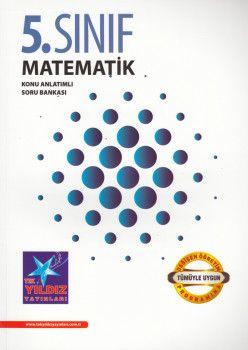 Tek Yıldız Yayınları 5. Sınıf Matematik Konu Anlatımlı Soru Bankası