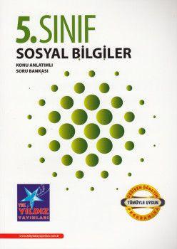 Tek Yıldız Yayınları 5. Sınıf Sosyal Bilgiler Konu Anlatımlı Soru Bankası