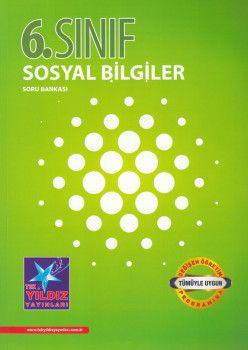 Tek Yıldız Yayınları 6. Sınıf Sosyal Bilgiler Soru Bankası