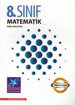 Tek Yıldız Yayınları 8. Sınıf Matematik Konu Anlatımlı