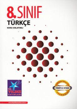 Tek Yıldız Yayınları 8. Sınıf Türkçe Konu Anlatımlı