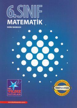 Tek Yıldız Yayınları 6. Sınıf Matematik Soru Bankası
