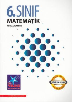 Tek Yıldız Yayınları 6. Sınıf Matematik Konu Anlatımlı