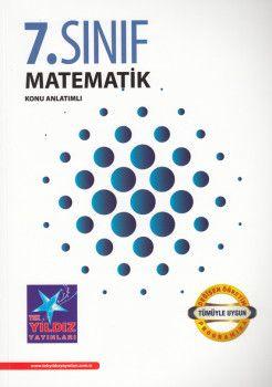 Tek Yıldız Yayınları 7. Sınıf Matematik Konu Anlatımlı