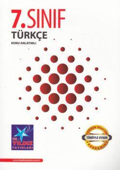 Tek Yıldız Yayınları 7. Sınıf Türkçe Konu Anlatımlı
