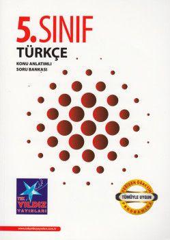 Tek Yıldız Yayınları 5. Sınıf Türkçe Konu Anlatımlı Soru Bankası