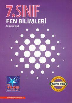 Tek Yıldız Yayınları 7. Sınıf Fen Bilimleri Soru Bankası