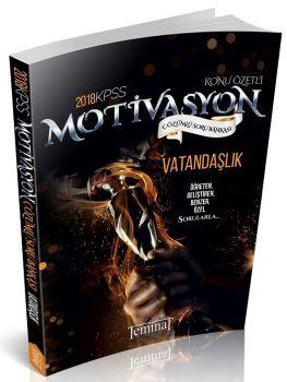 Teminat Yayınları 2018 KPSS Motivasyon Vatandaşlık Çözümlü Soru Bankası