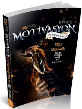 Teminat Yayınları 2018 KPSS Motivasyon Türkçe Çözümlü Soru Bankası