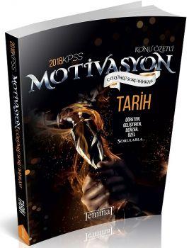 Teminat Yayınları 2018 KPSS Motivasyon Tarih Çözümlü Soru Bankası