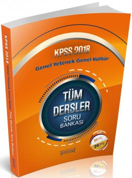 Teminat Yayınları 2018 KPSS Genel Yetenek Genel Kültür Tüm Dersler Soru Bankası