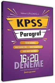 Tercih Akademi 2020 KPSS Paragraf 16 × 20 Deneme