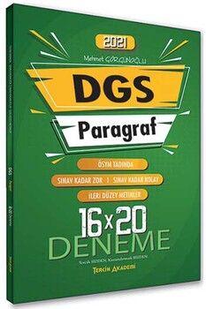 Tercih Akademi 2021 DGS Paragraf 16 x 20 Deneme