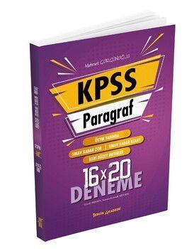 Tercih Akademi 2021 KPSS Paragraf 16 × 20 Deneme