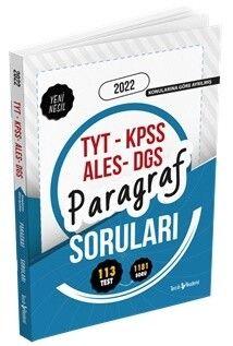 Tercih Akademi 2022 TYT KPSS ALES DGS Paragraf Soruları