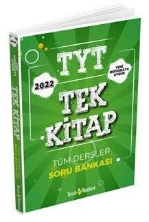 Tercih Akademi 2022 TYT Tek Kitap Tüm Dersler Soru Bankası