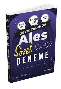 Tercih Akademi ALES Sözel 5 x 50 Deneme