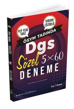 Tercih Akademi DGS Sözel 5 x 60 Deneme